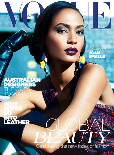 Joan Smalls Vogue Australia Magazine