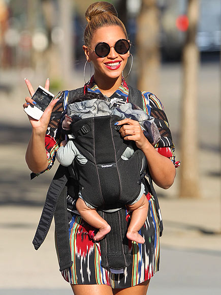 Beyonce Blue Ivy Thakoon Resort 2012 Central Park Fashion