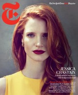 Jessica Chastain Covers T Magazine
