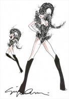 Armani Designs Costumes for Lady Gaga's New Tour