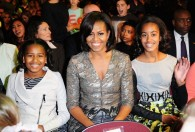 Michelle Obama Fashion: Nickelodeon Kids Choice Awards