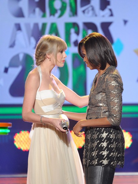 Michelle Obama Taylor Swift Nickelodeon Kids Choice