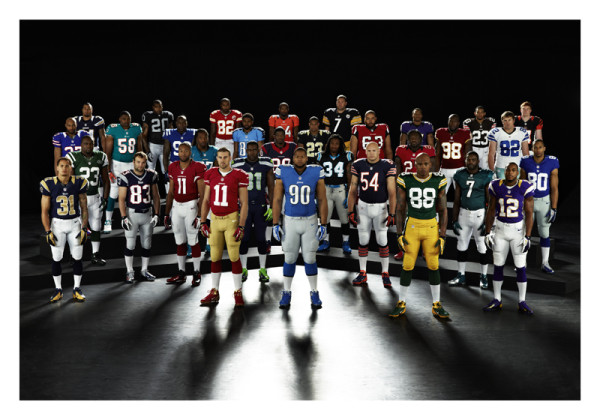 Nike NFL Uniforms Football Teams