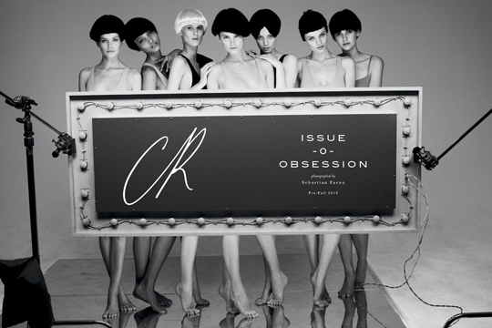 Carine Roitfeld CR Fashion Book Magazine