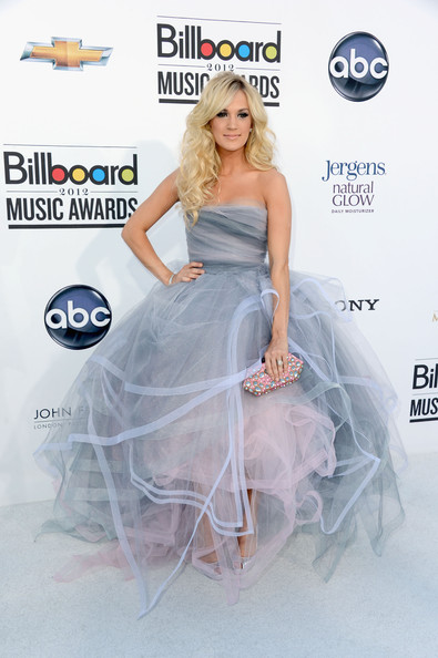 Carrie Underwood 2012 Billboard Awards Music Fashion