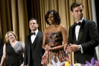 Michelle Obama Fashion: White House Correspondents Dinner