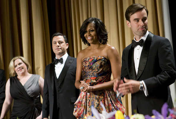 Michelle Obama Fashion White House Correspondents Naeem Khan