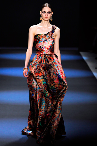 Naeem Khan FW11 Michelle Obama