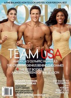 Hope Solo, Ryan Lochte, and Serena Williams Cover Vogue Magazine