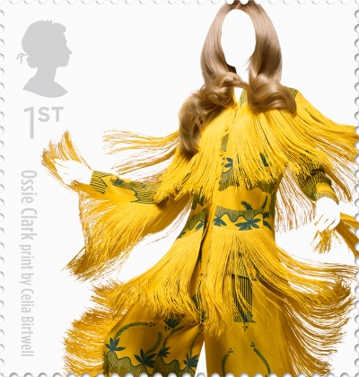 Ossie Clark British Fashion Stamp