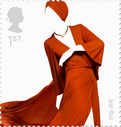 Jean Muir British Fashion Stamp