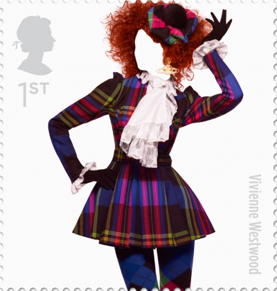 Vivienne Westwood British Fashion Stamp