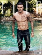 David Beckham Covers Elle UK