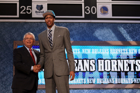 2012 nba draft anthony davis unibrow fashion