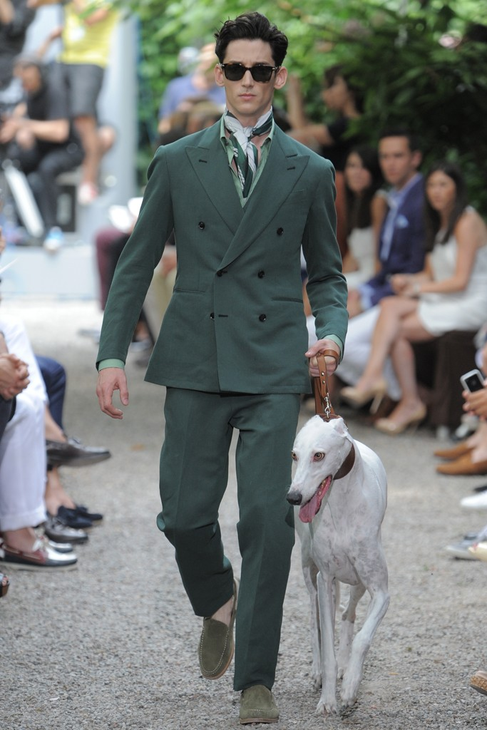 Trussardi Spring Summer 2013 SS13 Menswear Fashion MFW