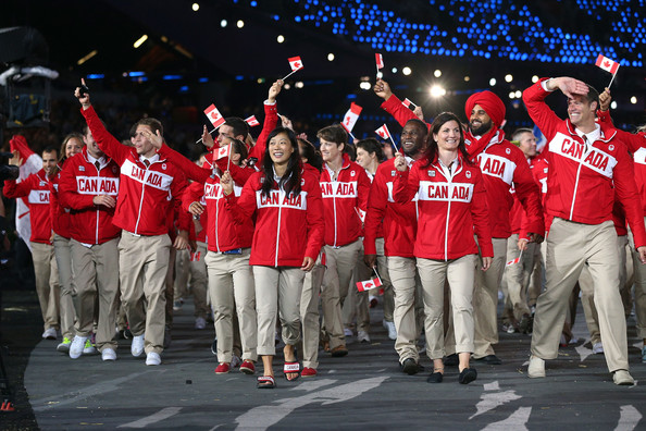 2012 London Olympics Opening Ceremony Canada Uniforms