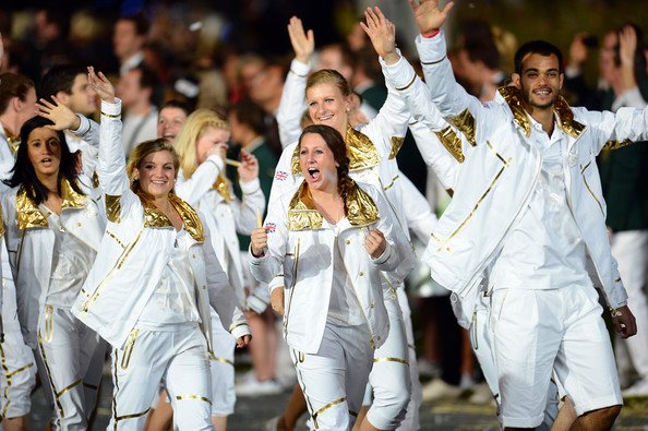 2012 London Olympics Opening Ceremony Great Britain Uniforms