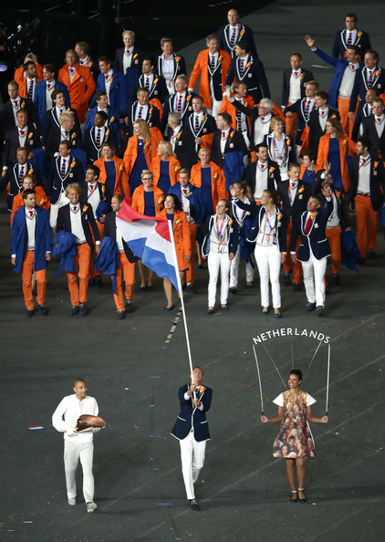 Netherlands olympics opening ceremony fashion uniforms