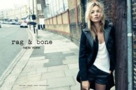 Kate Moss for Rag & Bone Fall 2012 Campaign