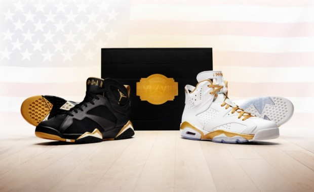 Air Jordan Golden Moments Pack GMP Jordans VI Jordan VII