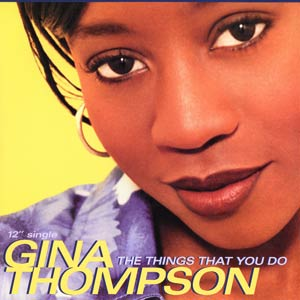 Gina Thompson The Things You Do Album Cover Music R&B divas