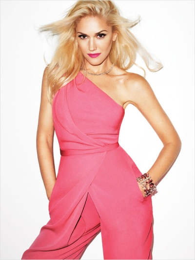 Gwen Stefani Harpers Bazaar September Fashion Issue 2012