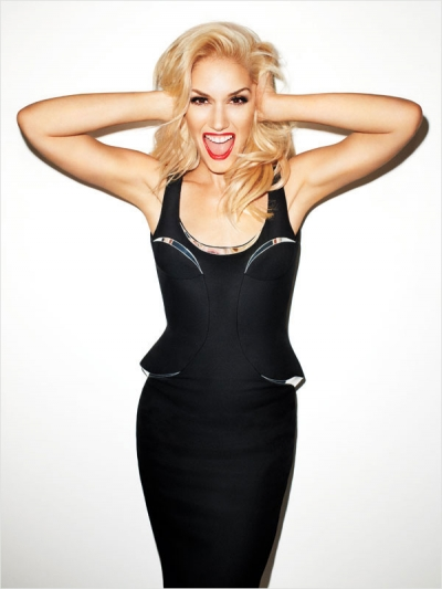 Gwen Stefani Harpers Bazaar September Fashoin Issue 2012