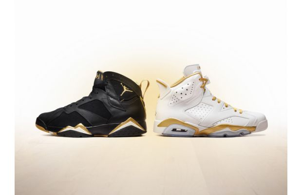 Air Jordan Golden Moments Pack Jordans VI Jordan VII