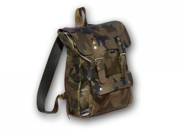 Logan Zane Camo Backpack Fashion Made in America