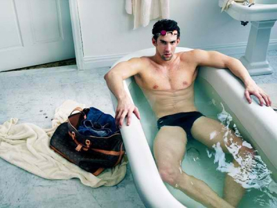 Michael Phelps Louis Vuitton Campaign Fashion Vogue