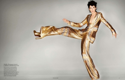 Stella Tennant Midas Touch Vogue September 2012 Fashion