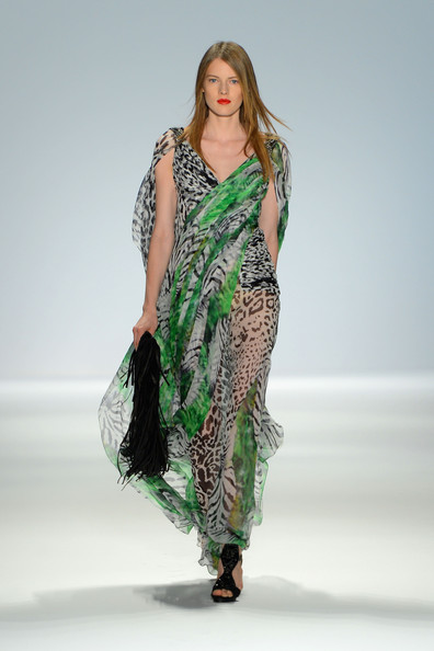 Carlos Miele dresses prints trends nyfw SS13