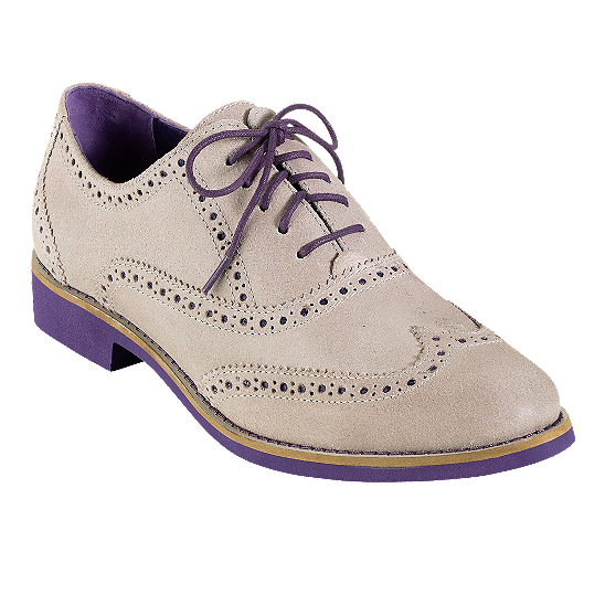 Cole Haan Alisa Oxford Shoes Purple Bottom FAshion