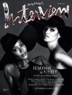 Naomi Campbell and Kate Moss for Interview Russia