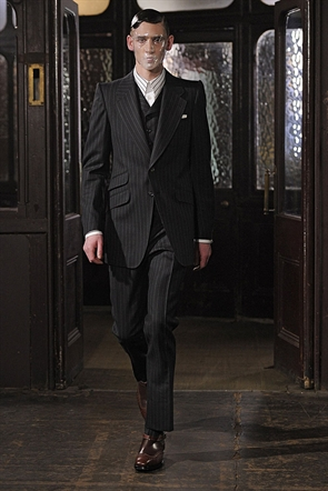 aw13, london collections, menswear, mens fashion, men, models, runway, sarah burton
