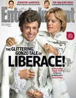 Michael Douglas and Matt Damon do Liberace for Entertainment Weekly