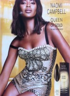 Naomi Campbell Queen of Gold Fragrance Launch