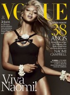 Naomi Campbell for Vogue Brazil