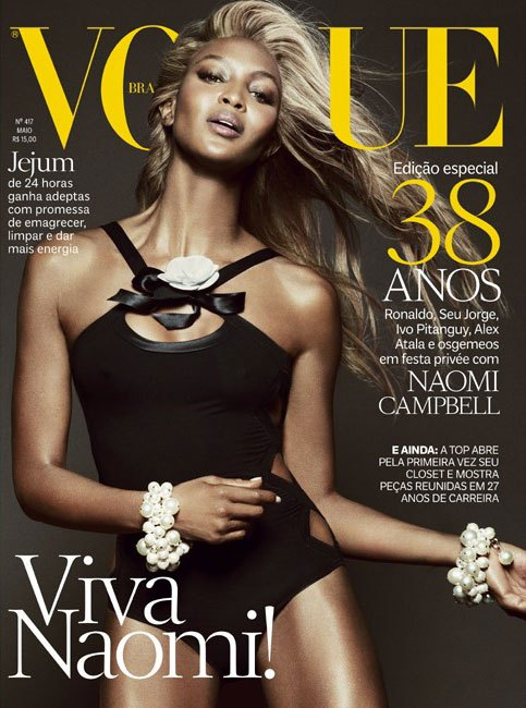 naomi campbell blonde hair vogue brasil, beyonce, naomi vogue