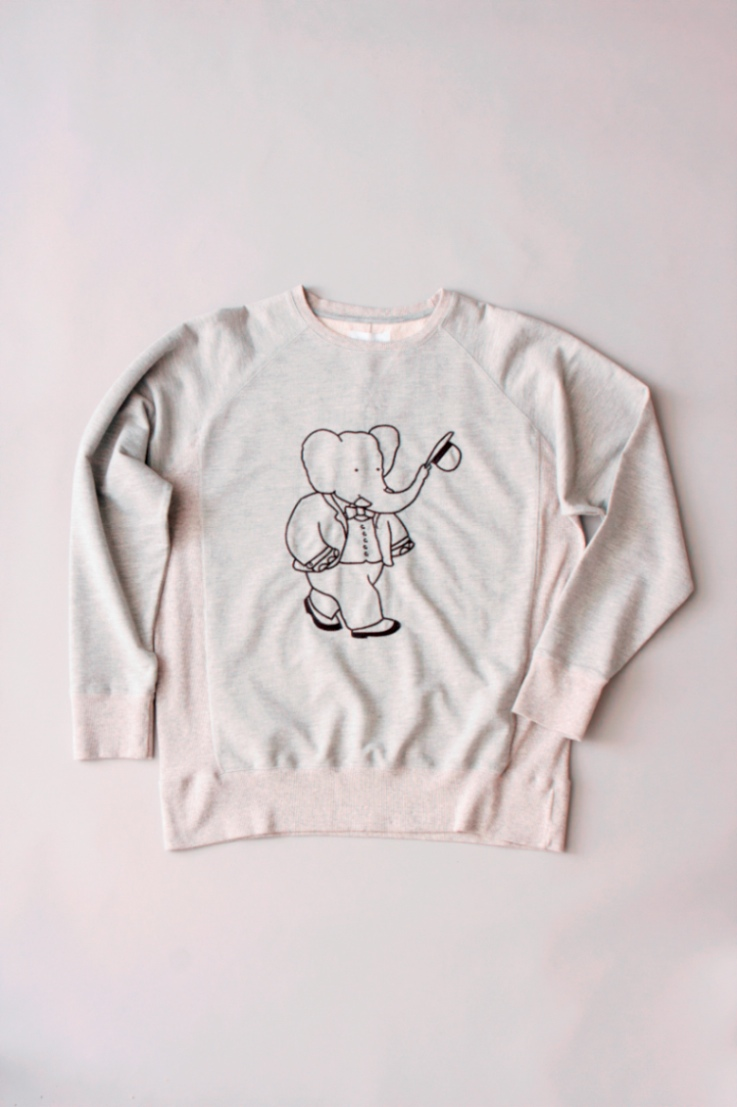 babar meets soulland, opening ceremony, babar mens clothing, babar for colette, babar for OC
