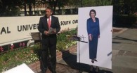 Mark Sanford's Cardboard Debate with Nancy Pelosi