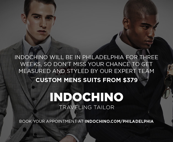 Indochino Philly, philly menswear, tailors in philly, shopping