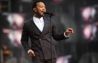 Moment of Swank: John Legend at Chime for Change Concert