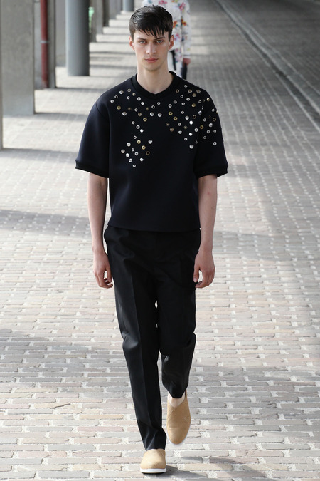 Phillip Lim SS14 Black Gold