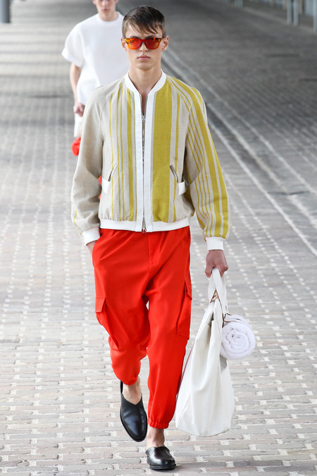 Phillip Lim SS14 Red Pants