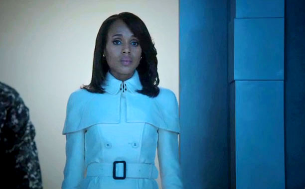 olivia pope white coat scandal season 3 episode 1 burberry trench spring 2013