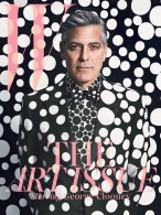 George Clooney for W Magazine's Art Issue